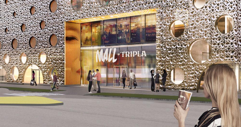 Meconet tarjoili Triplan rakennuttajalle iloisen yllätyksen