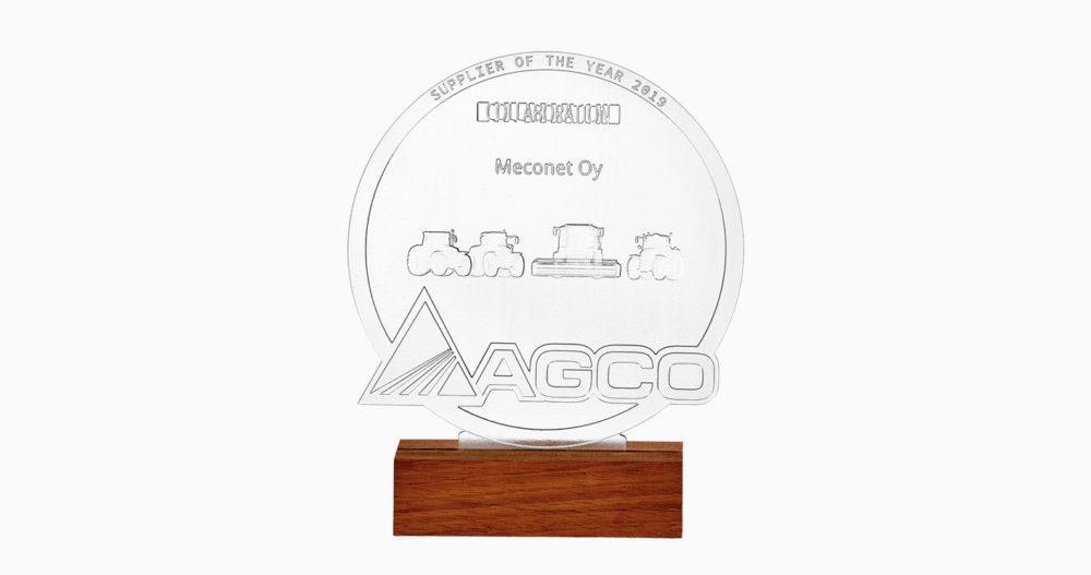 Vuoden yhteistyökumppanin palkinto Meconetille