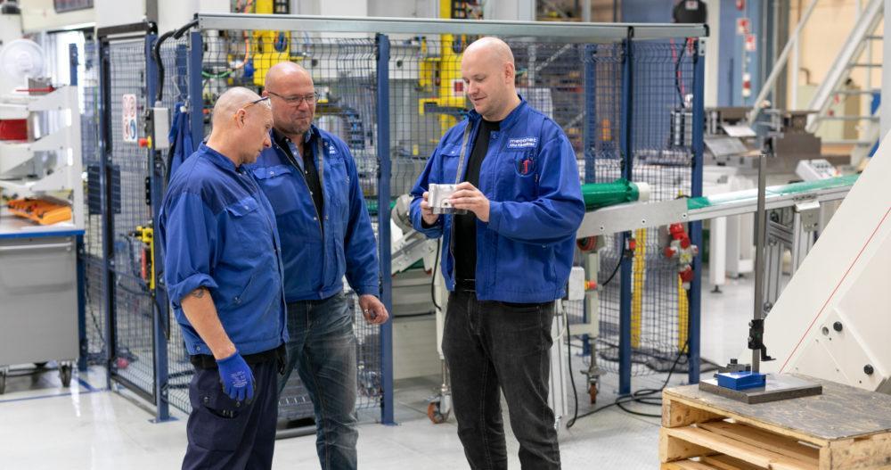 Meconet har beviljats fordonsbranschens IATF-certifiering
