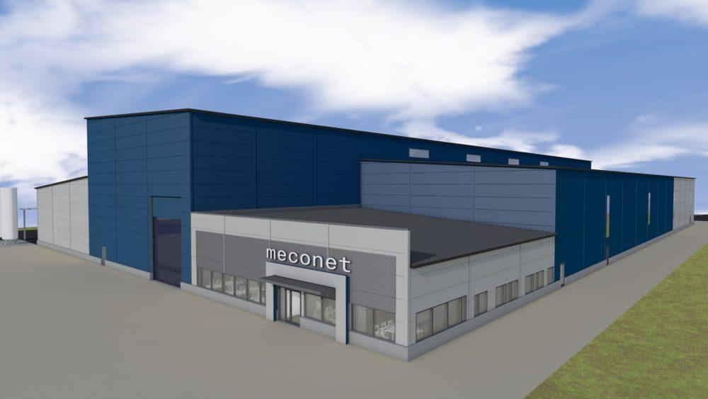 Meconet Oy rakentaa uuden tehtaan Hirvaskankaalle